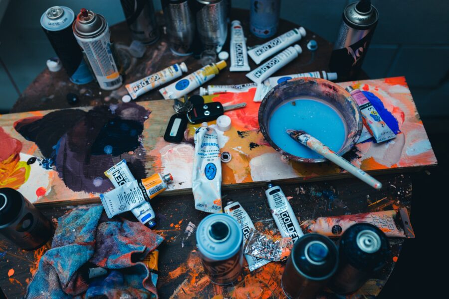 The Artist Never Leaves by CalebSalomons